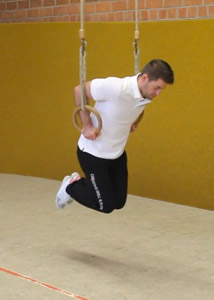 Fitness Ringtraining Dips